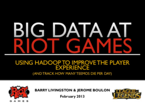 bigData-RiotGames